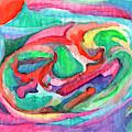 Colorful Abstraction by Irina Dobrotsvet