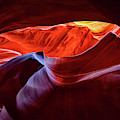 Colorful Antelope Canyon Lights by Gregory Ballos
