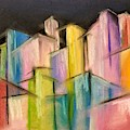 Colorful City by Lisa Bunsey