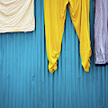 Colorful Laundry by Nicole Young