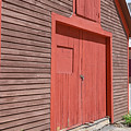 Colorful Old Barns New Boston New Hampshire by Edward Fielding