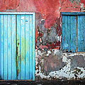 Colorful Wall, Door And Shutters by Lyl Dil Creations