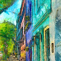 Colors Of Rainbow Row by Dan Sproul