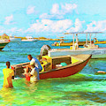 Colors Of The Caribbean In Island Harbour Anguilla by Ola Allen