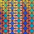 Coloured Glass Window by Joan Stratton