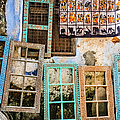 Colorful Window Frames by Lyl Dil Creations