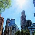 Columbus Circle At Mid Day by Doug Swanson