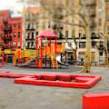 Columbus Park Colors New York City by John Rizzuto