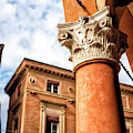 Column Style In Bologna by John Rizzuto