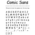 Comic Sans - Most Wanted by Barry Costa