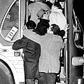 Commuters Cram Their Way Into Crosstown by New York Daily News Archive