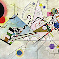 Composition 8 - Komposition 8 by Wassily Kandinsky