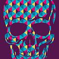 Conceptual Human Skull. Vector by Radoman Durkovic