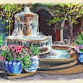 Concord Todos Santos Plaza Fountain by Irina Sztukowski