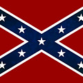 Confederate Stars And Bars T-shirt by Daniel Hagerman