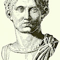 Constantine The Great Portrait by English School