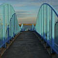 Constitution Beach Footbridge Boston Ma East Boston by Toby McGuire