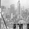 Construction Of The World Trade Center by New York Daily News Archive