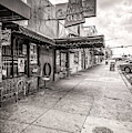 Continental Club Austin Black And White by Tod and Cynthia Grubbs
