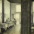 Conversation In An Old Cafe by Lynn Hansen