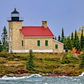 Copper Harbor Lighthouse by Susan Rydberg