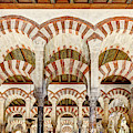 Cordoba Mosque Colonnade 04 by Weston Westmoreland