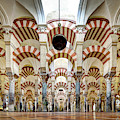 Cordoba Mosque Colonnade Square by Weston Westmoreland