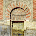 Cordoba Mosque Gate 01 Door by Weston Westmoreland
