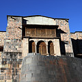 Coricancha And Santo Domingo Church Cusco Peru by James Brunker
