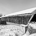 Cornish Windsor Bridge Winter by Edward Fielding