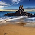 Corona Del Mar Beach by Bill Thomas
