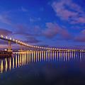Coronado Bridge Sunrise - Panorama by Jonathan Hansen