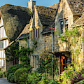 Cotswold Cottages, Stanton, Gloucestershire by David Ross