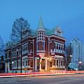 Cotton Exchange Building Aka South State Bank On 8th Street - Augusta Georgia by Silvio Ligutti