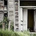 Cottonwood Church Door by Joan Carroll