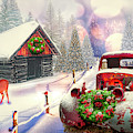 Country Mountain Christmas by Debra and Dave Vanderlaan
