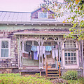 Country Wash Day by Lynn Bauer