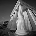 Courthouse Columns by Patrick M Lynch
