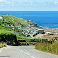 Cove Hill Sennen Cove by Terri Waters