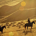 Cowboy Sunrise by Kay Brewer