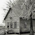 Cracker Church 1900s Bw by D Hackett
