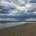 Crane Beach Portal Through The Storm Ipswich Ma Coastline Dramatic Sky by Toby McGuire