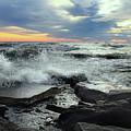 Crashing Waves by Angela Murdock