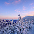 Crawford Notch Winter View. by Jeff Sinon