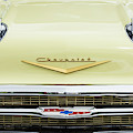 Cream 1957 Chevrolet by Tim Gainey