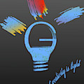 Creativity Is Light by Denis Giuffre