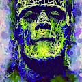 Frankenstein Watercolor by Al Matra