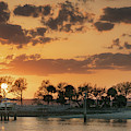 Creek Sunset by Darylann Leonard Photography