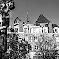 Crescent Hotel - Eureka Springs Arkansas - Monochrome Edition by Gregory Ballos