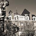 Crescent Hotel - Eureka Springs Arkansas - Sepia Edition by Gregory Ballos